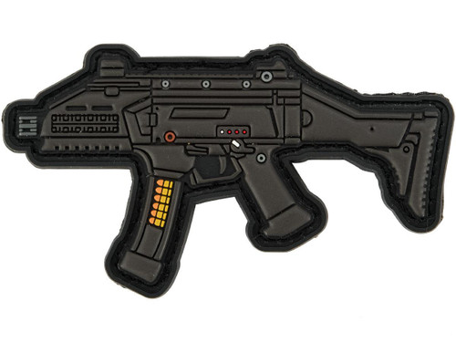 Aprilla Design PVC IFF Hook and Loop Modern Warfare Series Patch (Gun: Scorpion)
