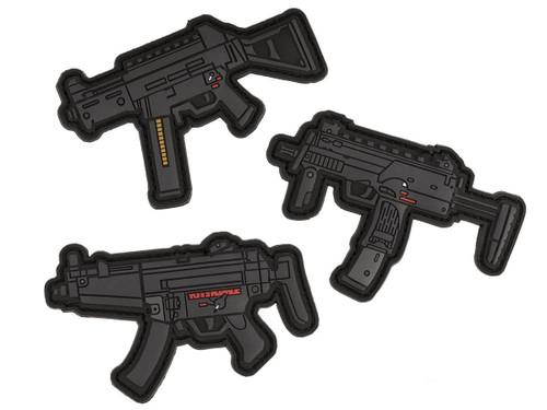 Aprilla Design PVC IFF Hook and Loop MP Series Patch (Gun: Full Set)
