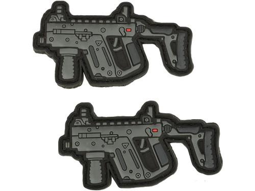 Aprilla Design PVC IFF Hook and Loop Patch - Vector (Quantity: Set of 2)