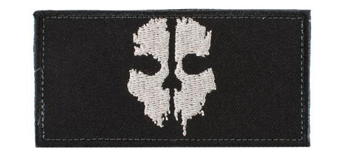 "Avengers ""Ghost"" Embroidered Patch - Black"