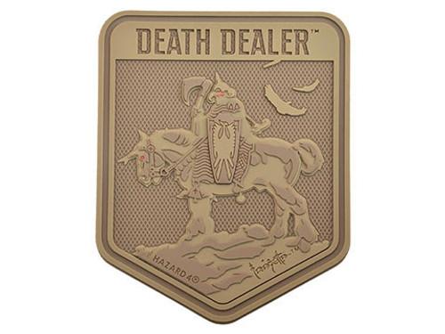 Hazard 4 Death Dealer by Frank Frazetta Patch (Color: Coyote)