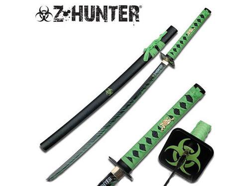 "Biohazard Slayer 41"" Decorative Samurai Sword with Sheath"
