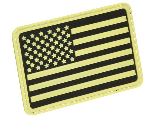 Hazard 4 PVC USA Flag (Color: Glow / Left Arm)