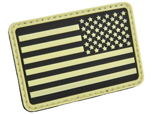 Hazard 4 PVC USA Flag (Color: Glow / Right Arm)