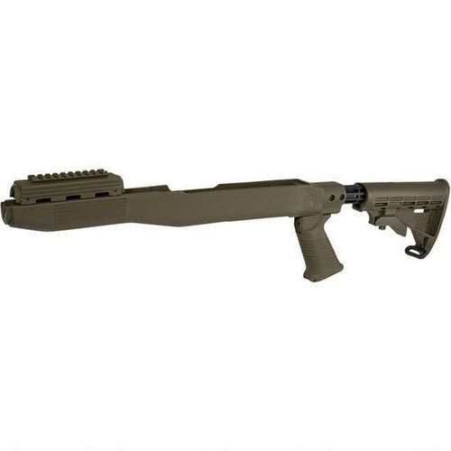 Tapco SKS T6 Collapsible Composite - Olive Drab
