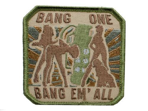 "Mil-Spec Monkey ""Bang One, Bang Em All"" Patch - (Large / Arid)"