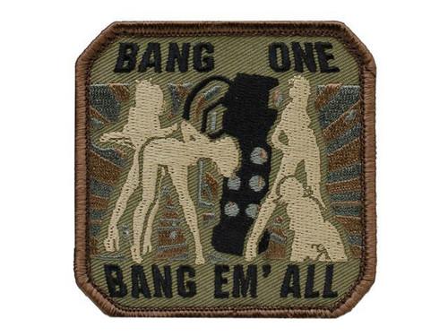 "Mil-Spec Monkey ""Bang One, Bang Em All"" Patch - (Large / Forest)"