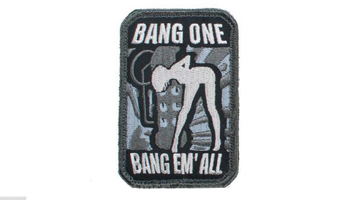"""Mil-Spec Monkey """"Bang One, Bang Em All"""" Patch - Small / SWAT"""