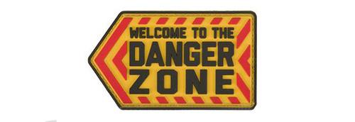 "Mil-Spec Monkey ""Danger Zone"" PVC Morale Patch - Full Color"