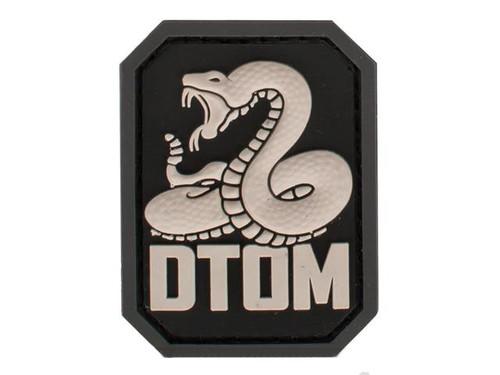 """Mil-Spec Monkey """"DTOM"""" PVC Hook and Loop Patch - SWAT"""
