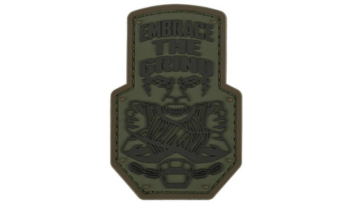 "Mil-Spec Monkey ""Embrace the Grind"" PVC Morale Patch (Color: Forest)"