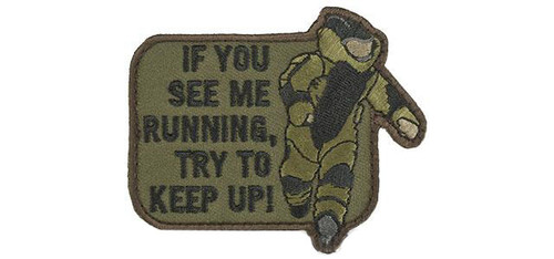 """Mil-Spec Monkey """"EOD Running"""" Morale Patch - Forest"""