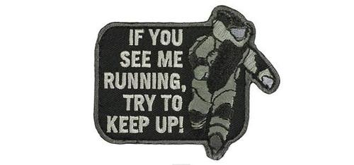 "Mil-Spec Monkey ""EOD Running"" Morale Patch - SWAT"