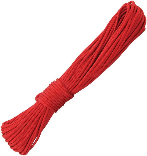 Fire-Starting Paracord Red