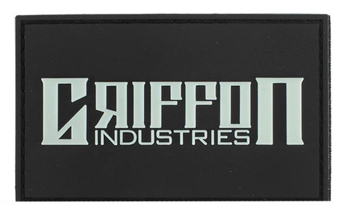 "Griffon Industries ""Griffon Industries"" Glow in the Dark PVC Patch"