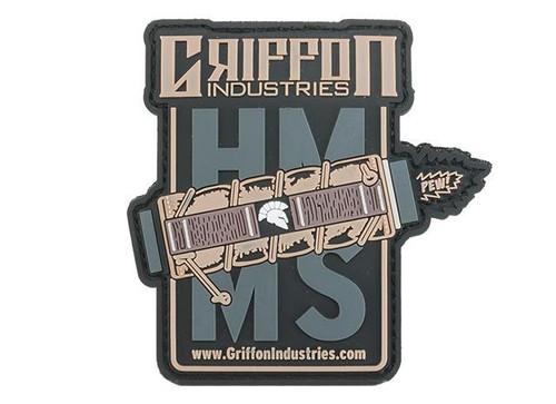 """Griffon Industries """"HMMS"""" PVC Morale Patch"""