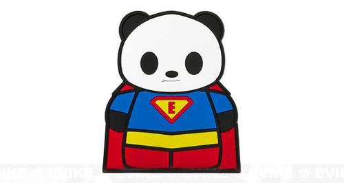 "Epik Panda ""Hero"" PVC Rubber Hook and Loop Morale Patch"