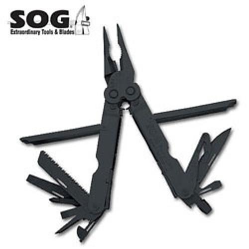 SOG Powerlock EOD w/Cutter - Black Oxide