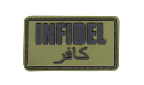 "Matrix ""Infidel"" Morale PVC Patch - (OD Green)"