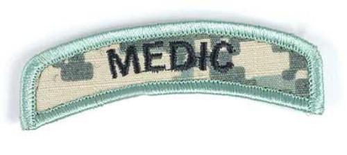 Matrix Medic Tab Hook Backed Morale Patch (ACU)