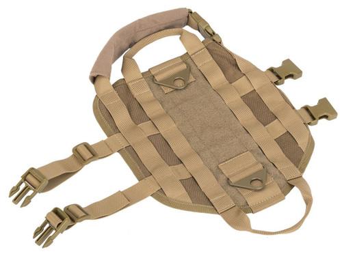 Matrix Tactical Working Dog Vest (Color: Tan / Large)