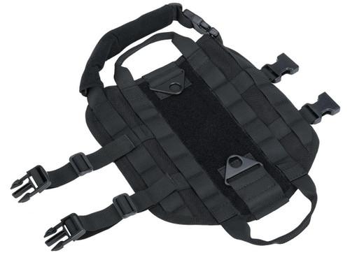 Matrix Tactical Working Dog Vest (Color: Black / Large)