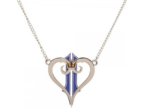 Officially Licensed Kingdom of Hearts Logo Necklace