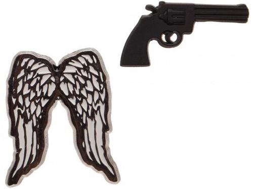 Walking Dead Elements Gun Lapel Pin