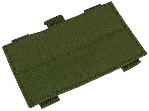 Matrix Tactical Systems MOLLE / PALS System Ready Hook and Loop ID Tag Plank - OD Green
