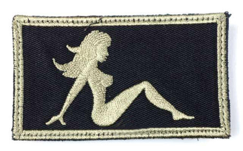 Matrix Very Tactical Embroidery Hook and Loop Patch - Lady(Tan)