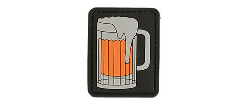 """Rubberized PVC """"Big Beer"""" Tactical Patch - 3 Color"""