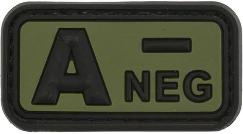 A Negative PVC Patch - Green
