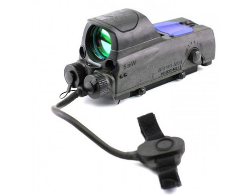 Meprolight MOR Reflex Sight w/Visible Laser Bullseye Reticle