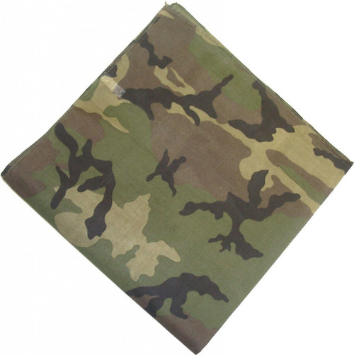 Screening Fabric 50 Yard Roll - Woodland Camo