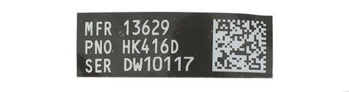 Blackjacks Weapon Code Label - HK 416