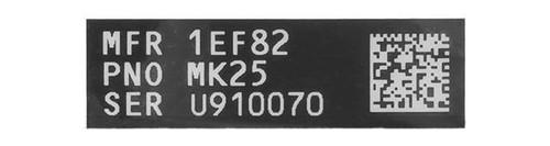 Blackjacks Weapon Code Label - MK25/P226R