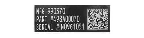 Blackjacks Weapon Code Label - MK46 MOD 0/1
