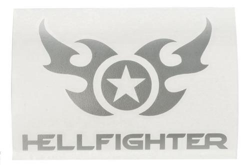 "SureFire ""HellFighter®"" Vinyl Decal - Silver"