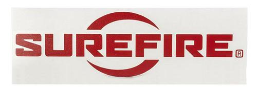 SureFire Logo Vinyl Decal - Red
