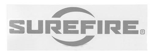 SureFire Logo Vinyl Decal - Silver