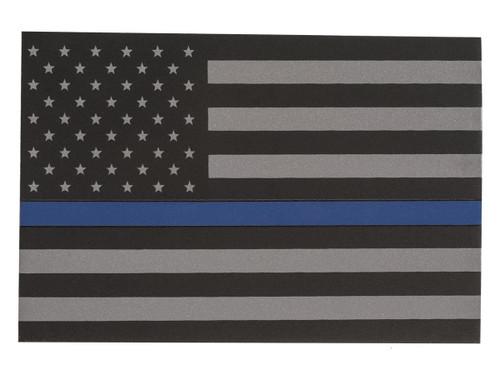 Thin Blue Line Flag Vinyl Sticker