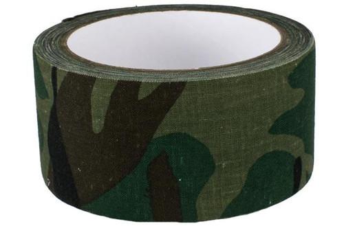 "Phantom Gear 2"" x 390"" Camouflage Fabric Wrap / Gear Silencer - Woodland Camo"