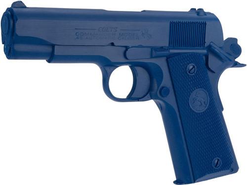 Rings Manufacturing Blue Guns Inert Polymer Training Pistol - Colt Commander Cocked & Locked