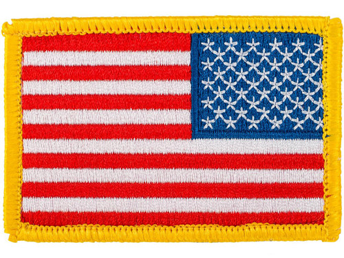 Matrix Hook and Loop U.S. IFF Flag Patch (Color: Full Color / Reversed)