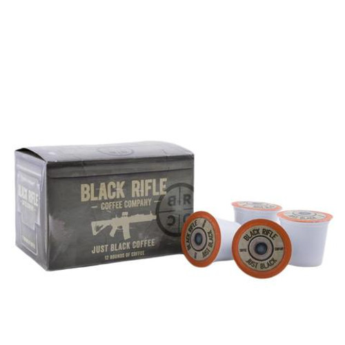 Black Rifle Coffee Company Just Black Coffee Rounds - 12 Pack