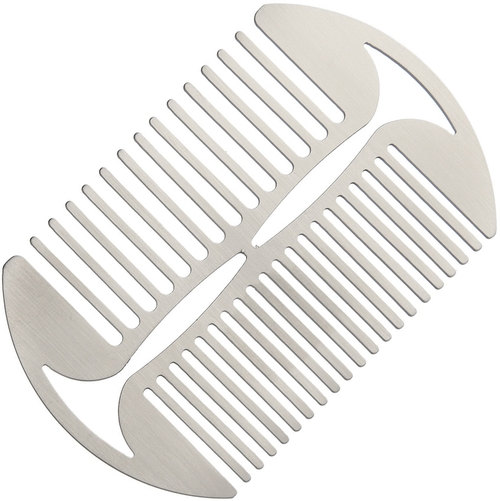 Stainless Steel Beard Comb