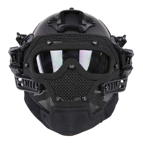 bf6a2dd79e5 Gear Stock WST G4 PJ Type Tactical Helmet - Black - Hero Outdoors