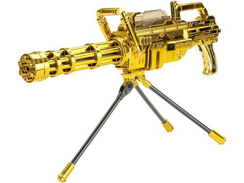 "ASP ""Max Power"" Soft Bullet Fully Automatic Mini-Gun - Gold"