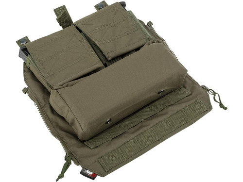 ZShot Crye Precision Licensed Replica Zip-on Pouch - Medium/Ranger Green