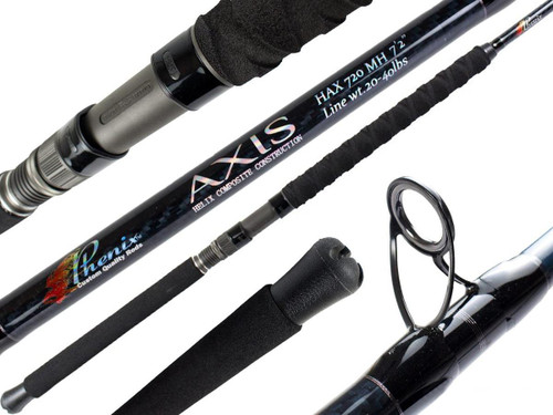 Phenix Axis Offshore Conventional Fishing Rod (Model: HAX909H-J)